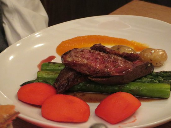 Le Colimacon: Well-presented plates