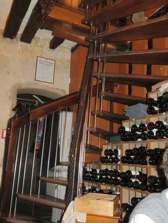 Le Colimacon: The spiral staircase