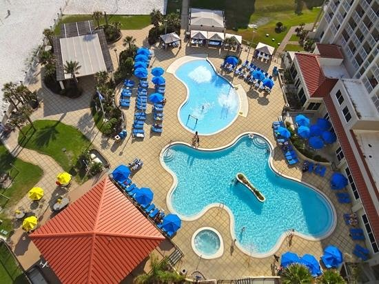 Hilton Pensacola Beach: The Pools