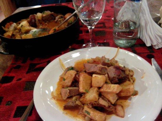 Isabel - Cocina al Disco: Disco de cordero patagónico