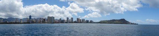 Sail Makani : Honolulu from the Makani