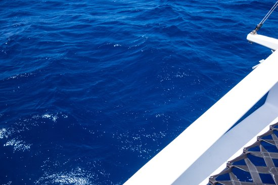 Sail Makani : Yes the water was this blue!