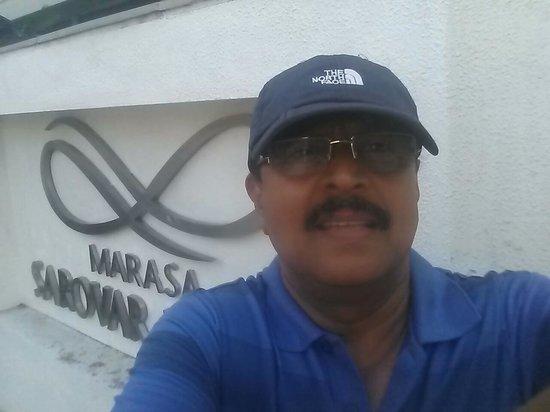 Marasa Sarovar Portico, Rajkot: Centre of Rajkot