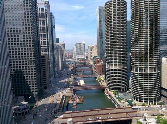 Wyndham Grand Chicago Riverfront: Amazing views