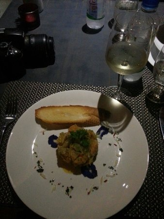 Mie Cafe: Amazing Salmon tartar