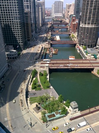 Wyndham Grand Chicago Riverfront: Amazing view