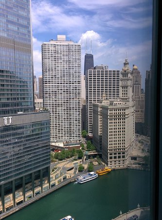 Wyndham Grand Chicago Riverfront : Amazing view