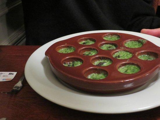 L'Aubergeade : Escargot