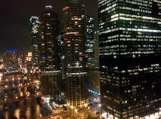Wyndham Grand Chicago Riverfront : Amazing views