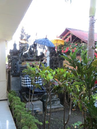 Bali Paradise Hotel Boutique Resort : hotel entrance