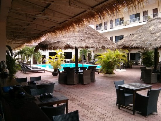 Beach Club Resort: View From Bar/Restaurant