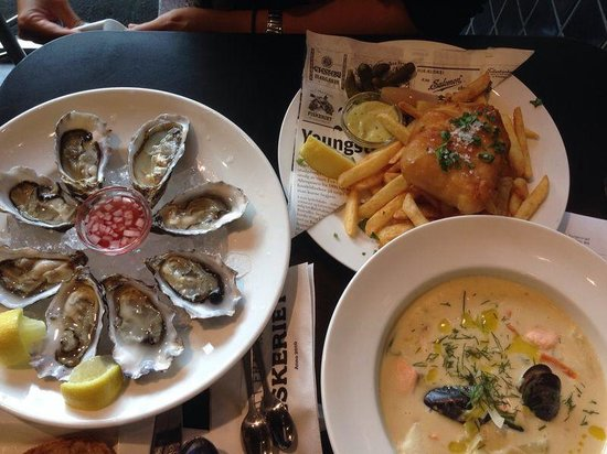 Fiskeriet Youngstorget: Good fresh seafood