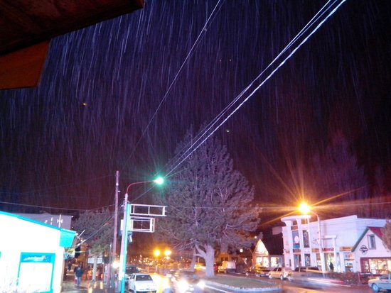 Av del Libertador: Más nieve