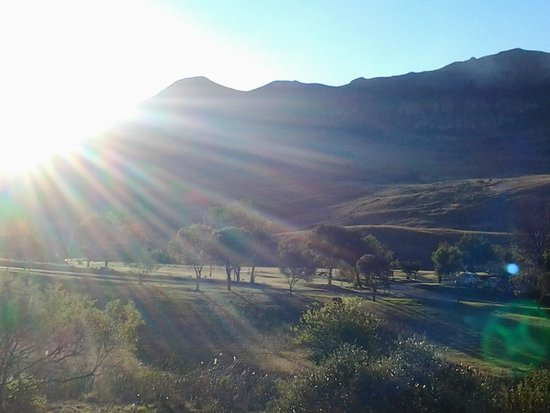 Alpine Heath Resort: Sunset