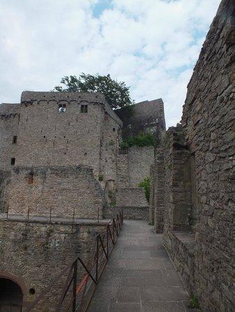 Burg Hohenbaden: Развалины