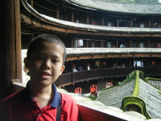 Yongding Earth Building: Tulou second floor