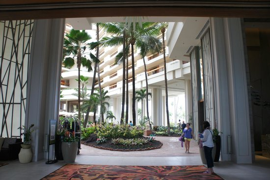 Hyatt Regency Maui Resort and Spa: Hotel lobby