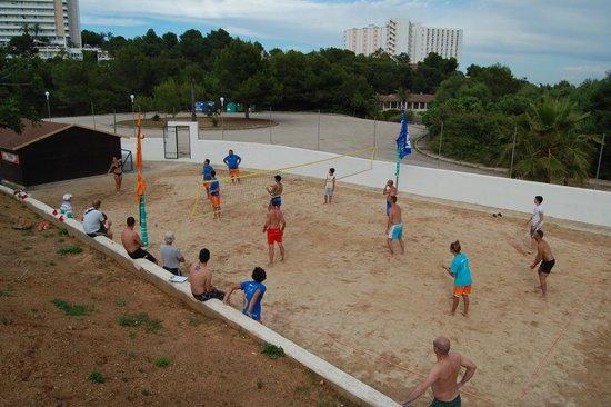 Eden Village Cala Domingos: avessi vi to una partita.....