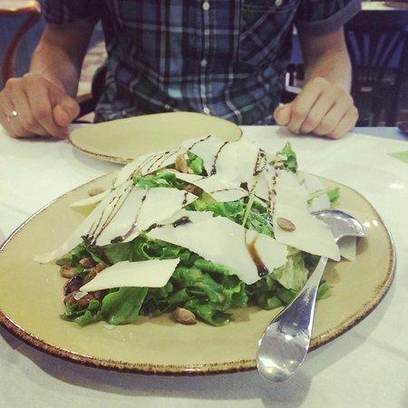 Al Fresco : rockette permesan salat is so tasty!
