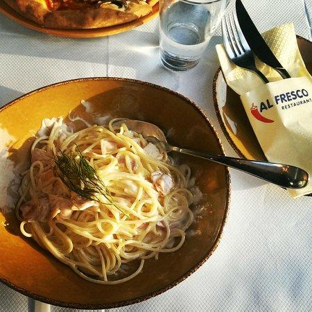 Al Fresco : Вкуснейшая карбонара!!!