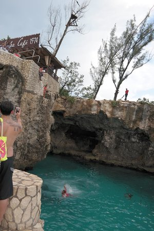 Royal Decameron Montego Beach : Risk cafe