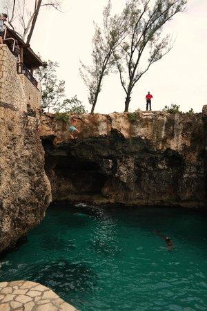 Royal Decameron Montego Beach : Area de clavado en Risk Cafe