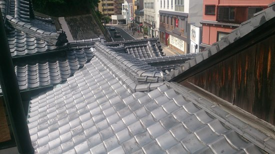 Dogo Onsen Honkan : 3階からの眺め