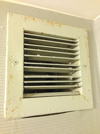 Hilton Stamford Hotel & Executive Meeting Center: shower vent
