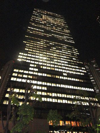 Keio Plaza Hotel Tokyo by night
