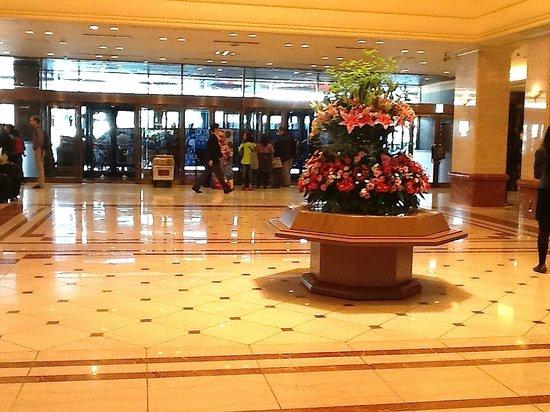 Ingresso e recepção do Keio Plaza Hotel Tokyo