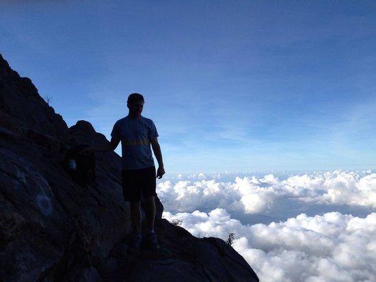 Mount Agung: It's steep