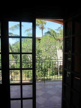 Hotel Casa Rita: выход на балкон
