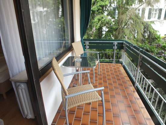 Allee Hotel Leidinger: Балкон