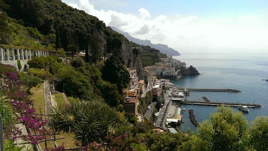 NH Collection Grand Hotel Convento di Amalfi: View from our room.