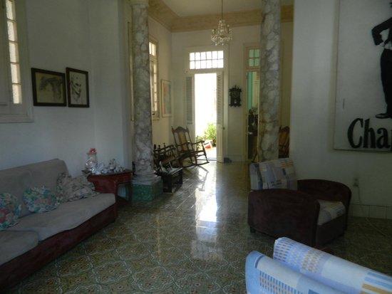 Carlos III Palace: Le salon