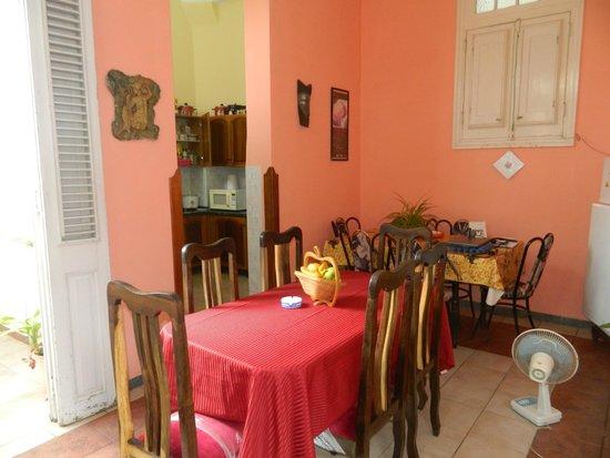 Carlos III Palace: Cuisine - salle à manger