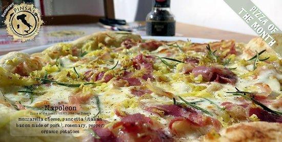 Pinsa's Restaurant: Napoleon Pizza