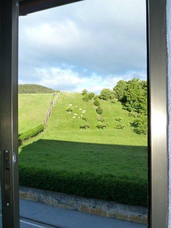 Hosteria de Zubiri : View from bedroom window