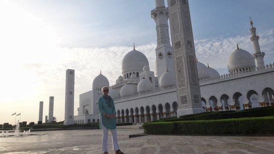 Sheikh  Zayed Mosque: Общий вид Мечети