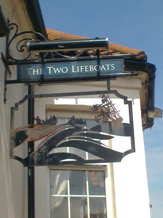 The Two Lifeboats: Sign