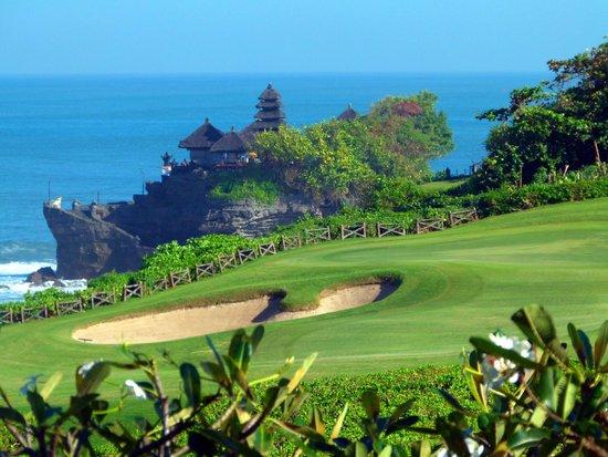 Pan Pacific Nirwana Bali Resort: Part of the Golf course.