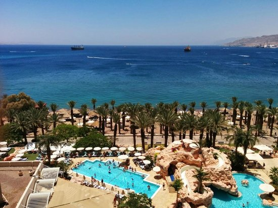 Dan Eilat : View from our room