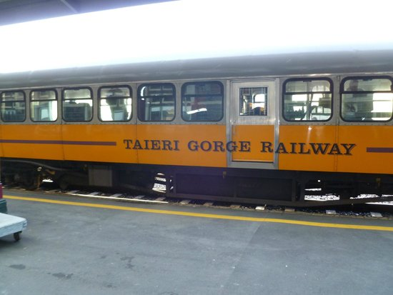 taieri gorge railway carriages