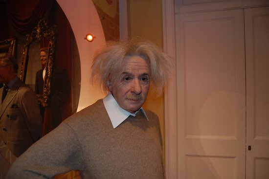 Madame Tussauds London : albert einstein