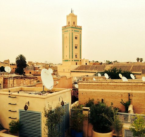 Riad Misria : View from rooftop