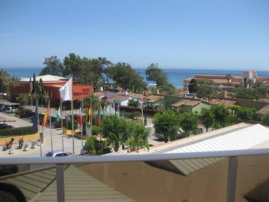 Diverhotel Marbella: Vista desde la habitación