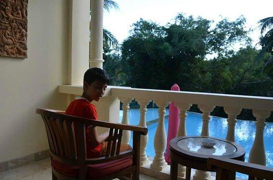 Ayung Resort Ubud: our balcony