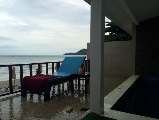 Chaweng Cove Beach Resort : Terrace