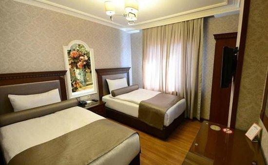 Grand Bazaar Hotel: Twin Room
