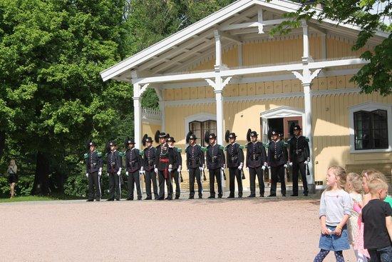Palais Royal : The Royal Palace - changing of the guard